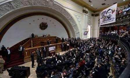 Parlamento venezuelano rejeita legitimidade de 2º mandato de Maduro