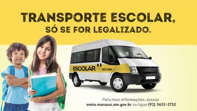 Fique atento: Transporte escolar, só se for legalizado