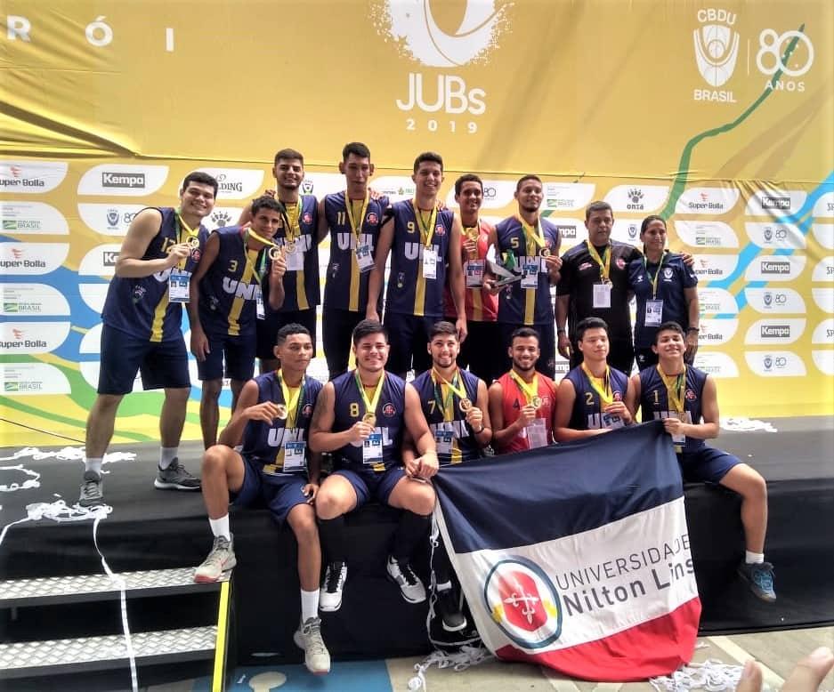 Atletas recebem apoio da Sejel para participar da fase final dos Jogos Universitários Brasileiros 1