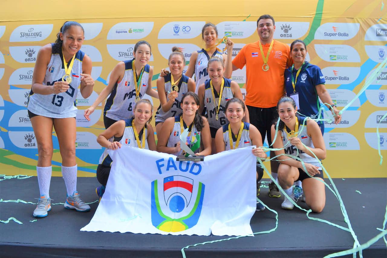 Atletas recebem apoio da Sejel para participar da fase final dos Jogos Universitários Brasileiros