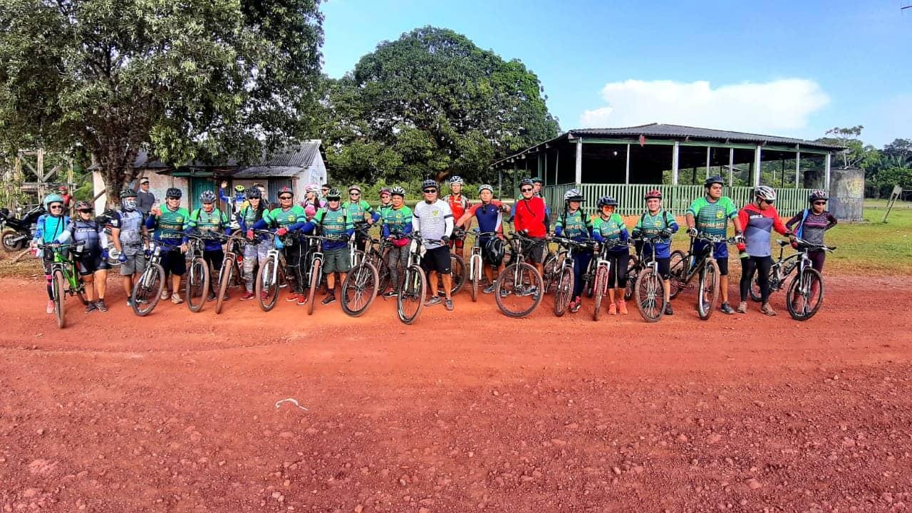 Aventureiros realizam trilha rural de bike da Vila Amazônia ao Santo Antônio do Tracajá 2
