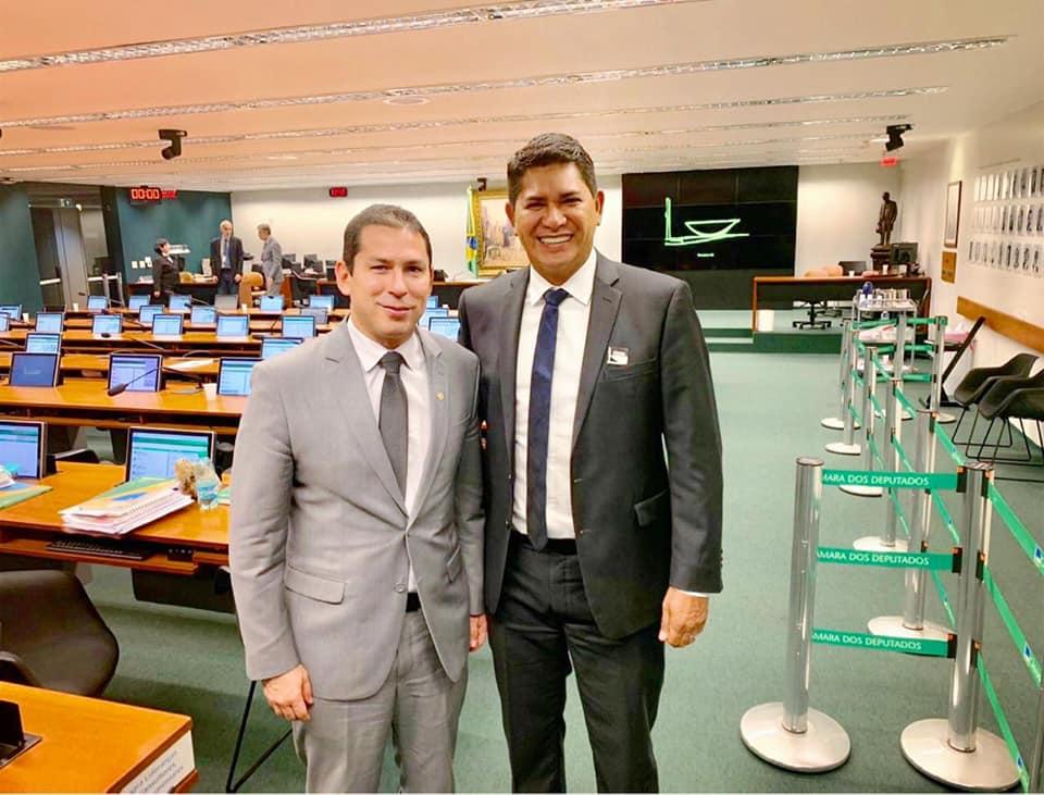 Bi Garcia e Marcelo Ramos