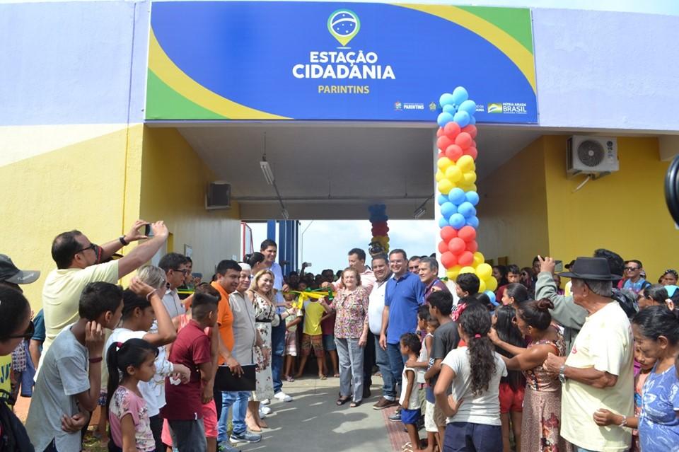 Bi Garcia inaugura Estação da Cidadania João do Carmo Juju Lima
