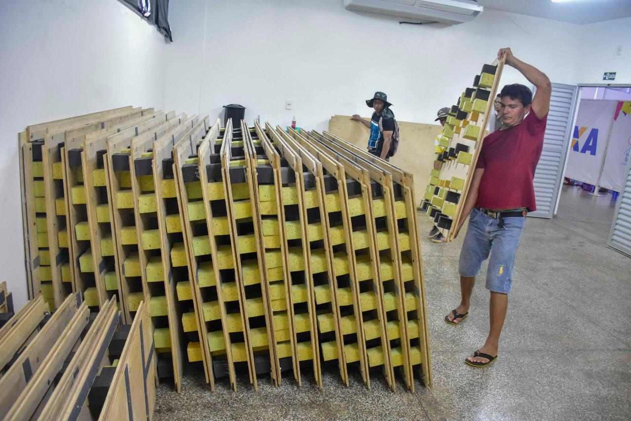 Centro de Ginástica do Amazonas recebe novos aparelhos de ginástica artística