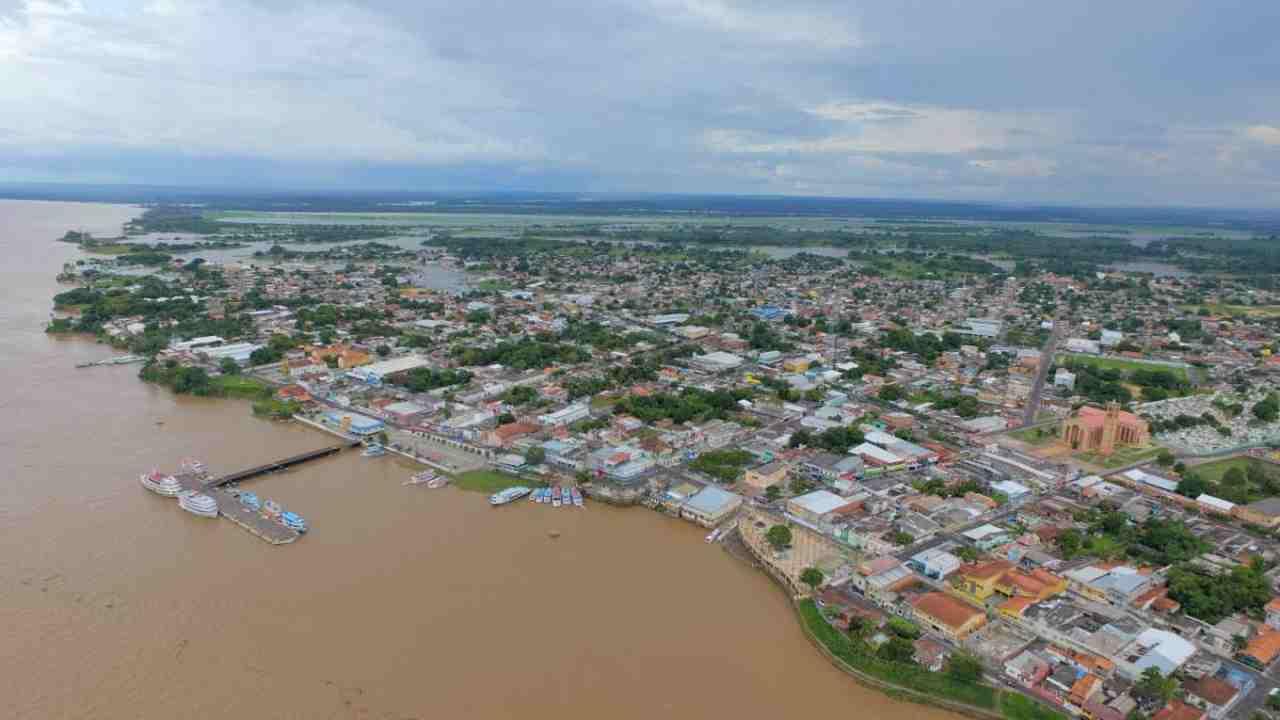 Cidade de Parintins Amazonas
