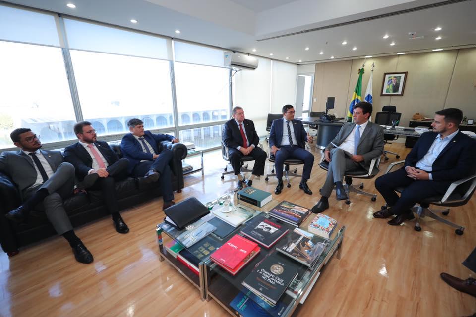 Ministro da Saúde garante a Wilson Lima apoio para ampliar investimentos no Amazonas