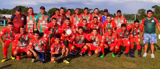 Seleção Parintinense máster na segunda fase da Copa dos Rios 2019 1