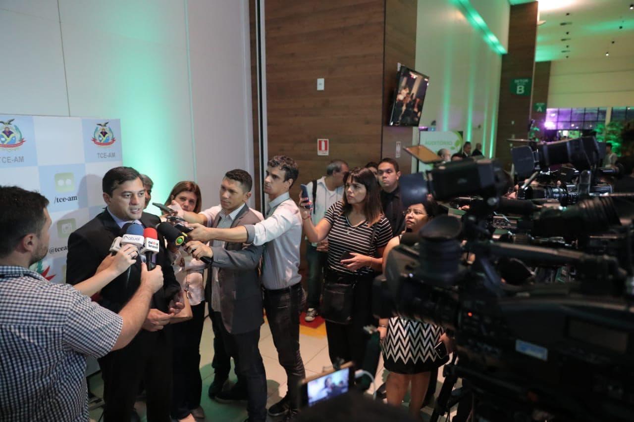 Wilson Lima defende ações que promovam desenvolvimento sustentável, em simpósio sobre gestão ambiental 1